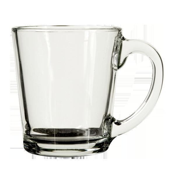 adf8d4806c0 CLEAR GLASS DELI COFFEE MUG - The Kalvanna Line